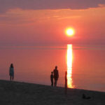 sunset-on-herbster-wisconsin-beach-square